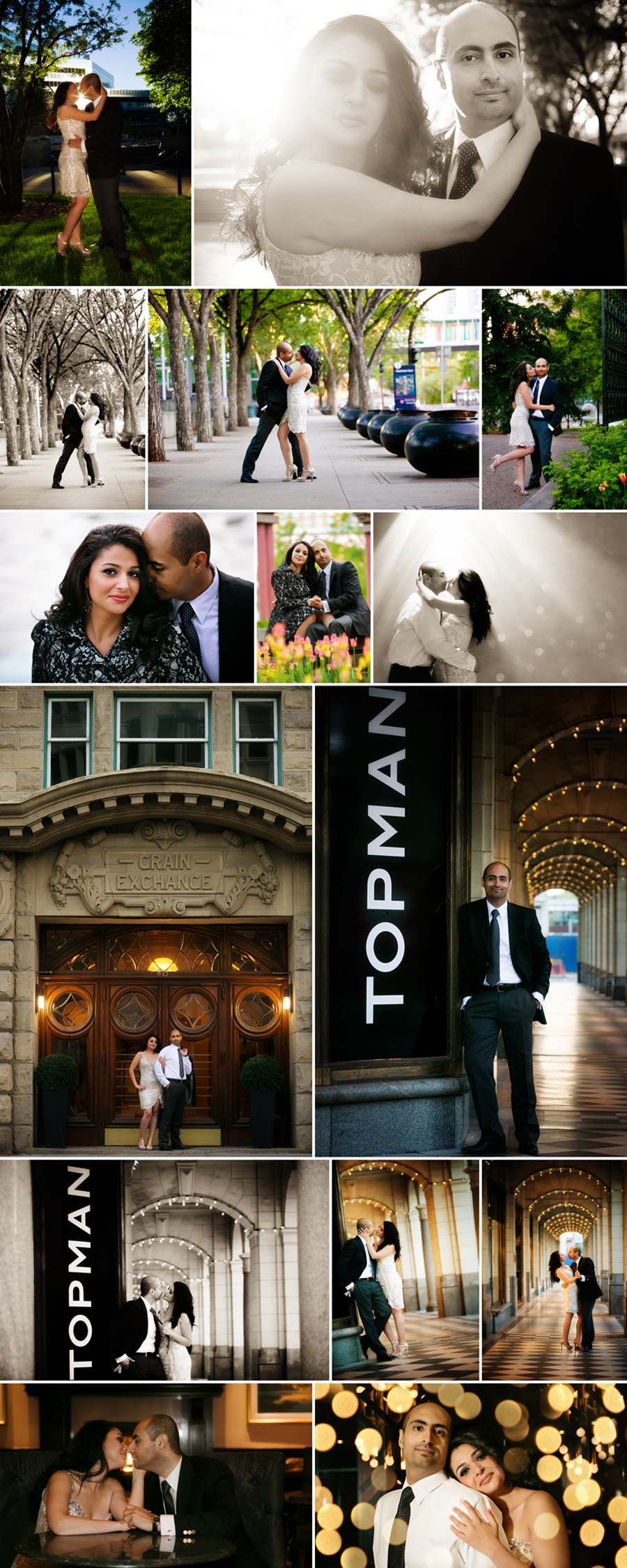 Engagement Portrait Session in Downtown Calgary with Joelene Mills Photography #YYC #JMP